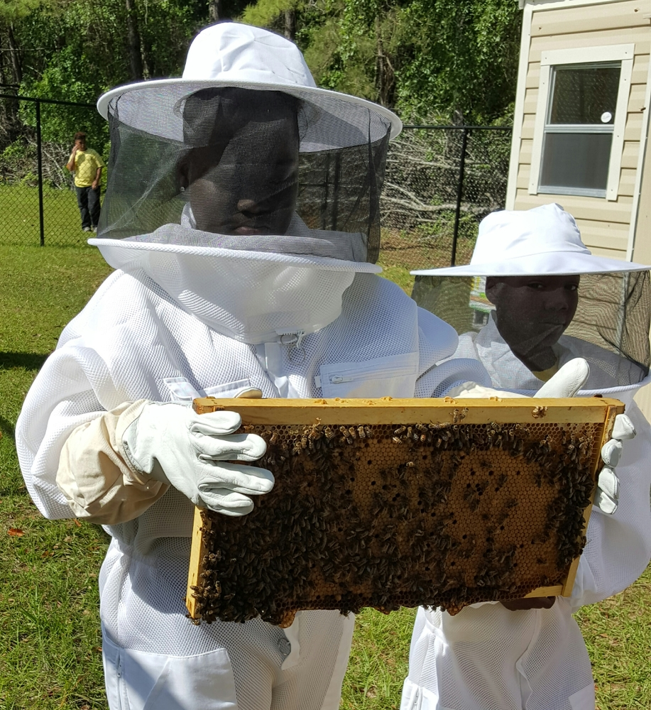 Quitman Elementary's Bee Keeping Club