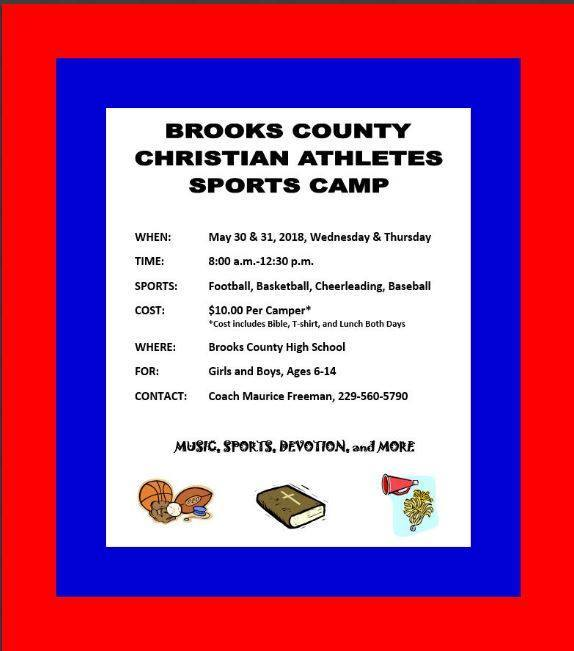Sports Camp  Information