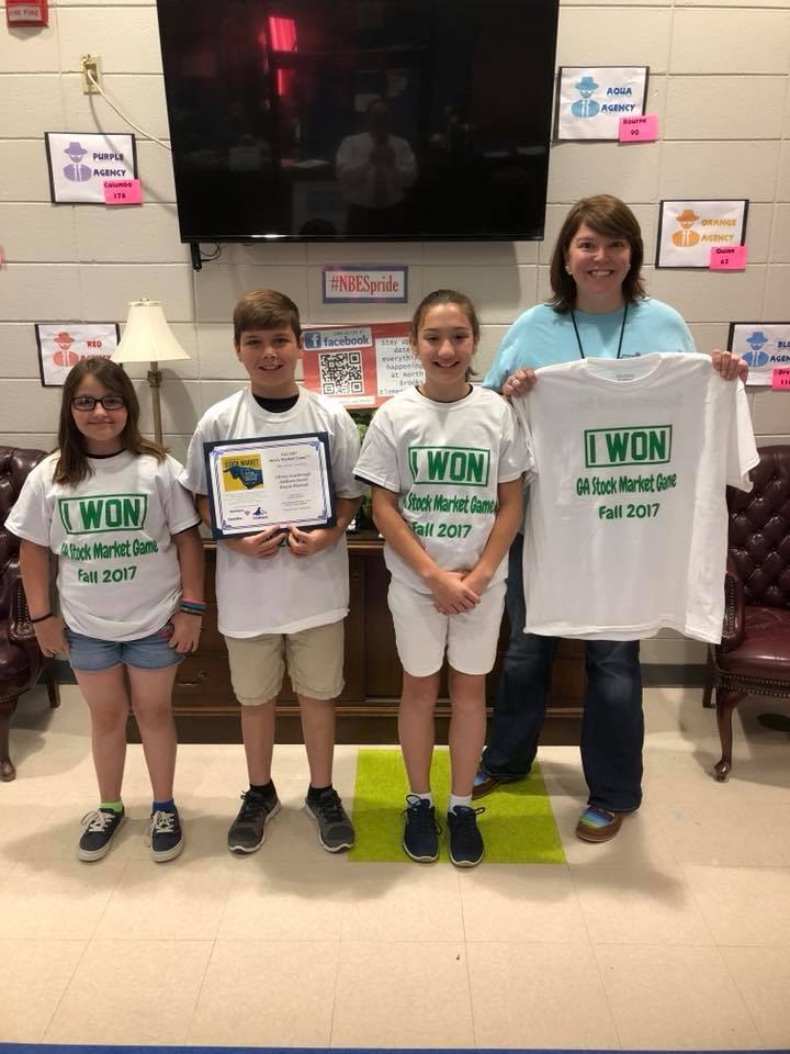 NBES Students Participate in Stock Market Game