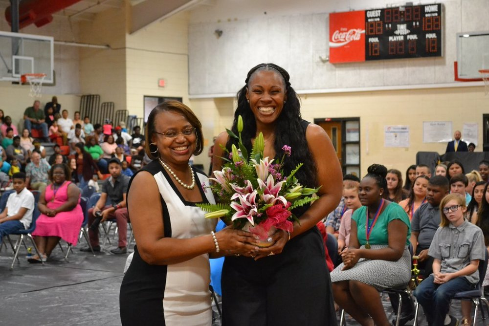 Thomas Named BCMS Teacher of the Year