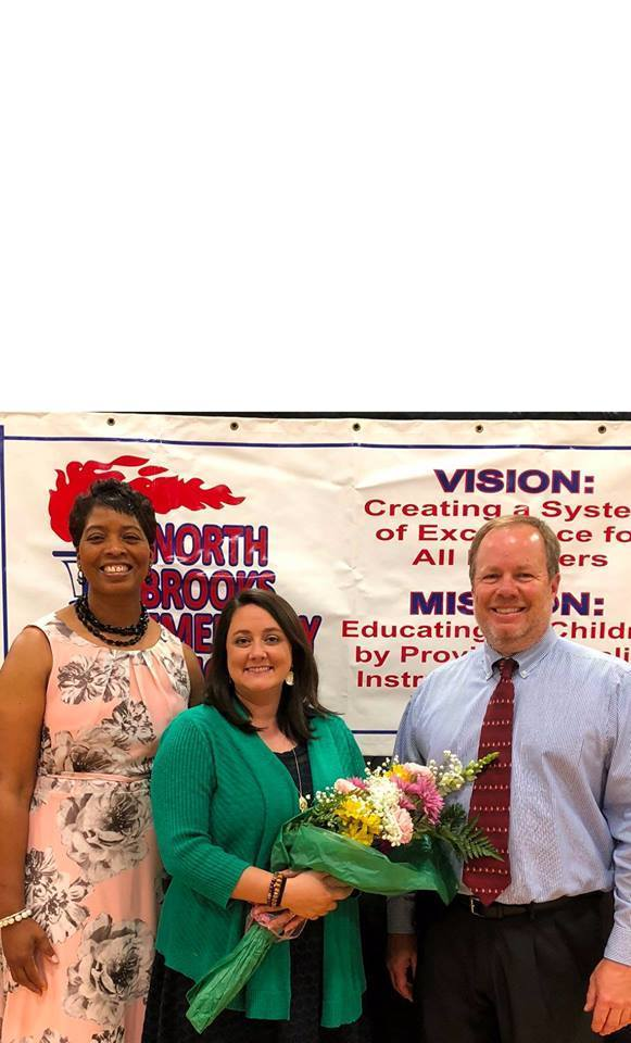 Graham Named NBES Teacher of the Year​​