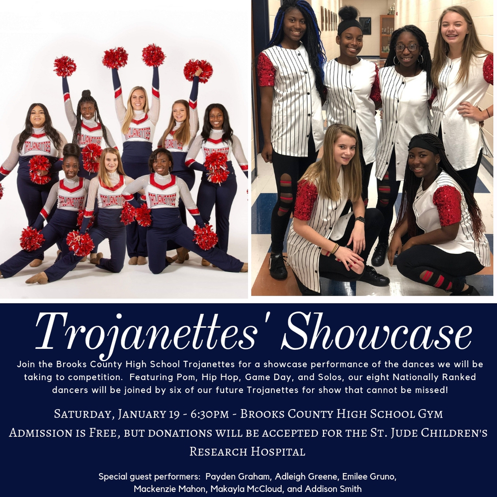Trojanettes Showcase
