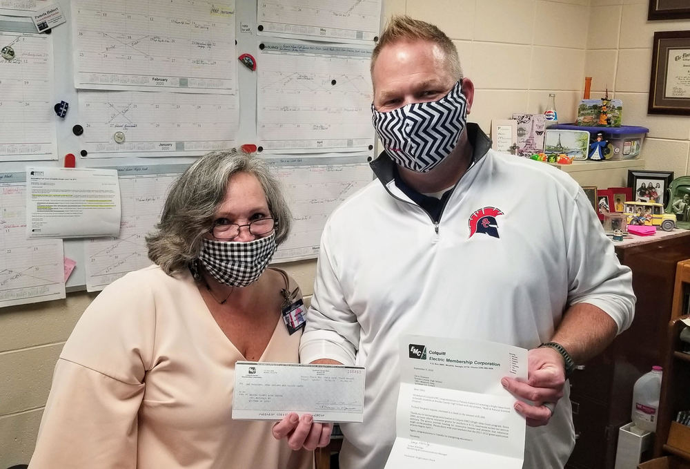 Colquitt EMC Awards Bright Ideas Grants to BCHS Teacher