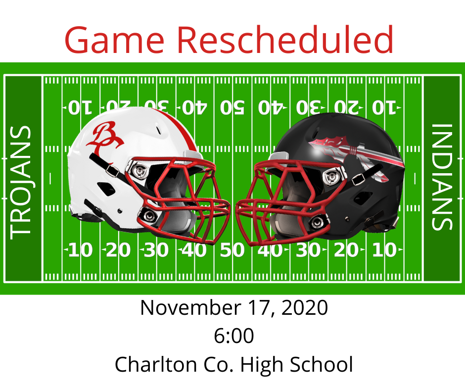 Game Rescheduled!
