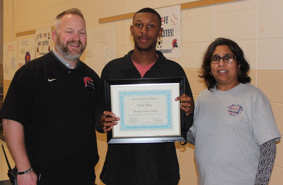 Miller Receives Certificate of Excellence