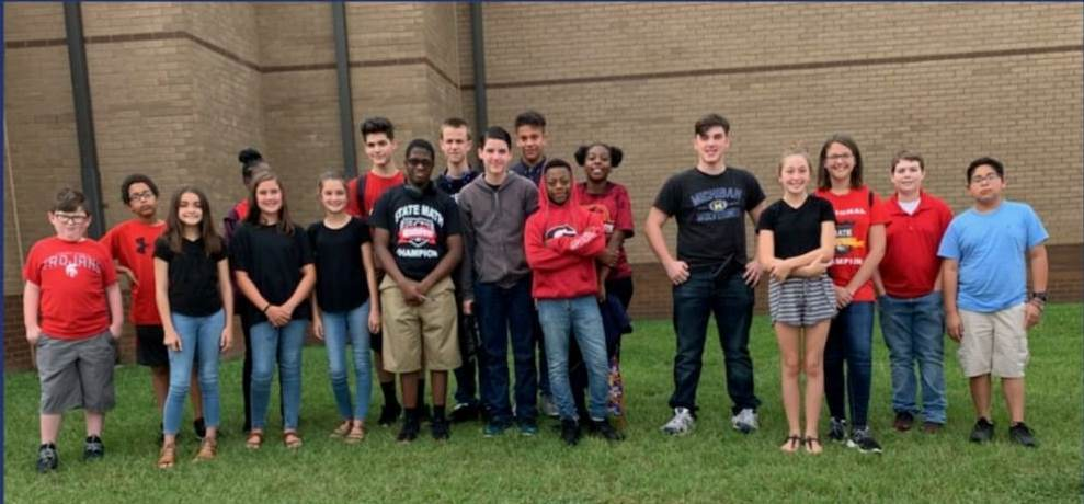 BCMS Math Club Scores Big at MathFest​