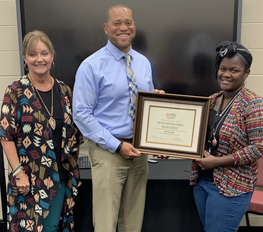 Delta Recognized for PBIS