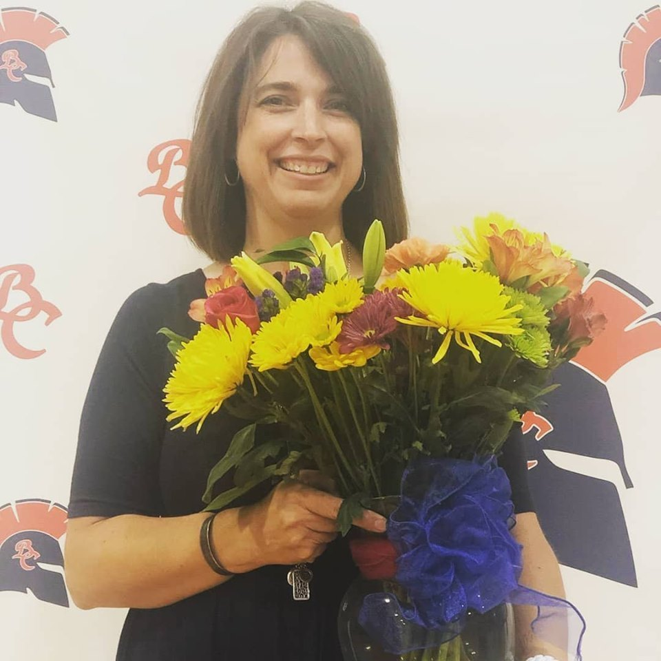 Hiers Named BCMS Teacher of the Year