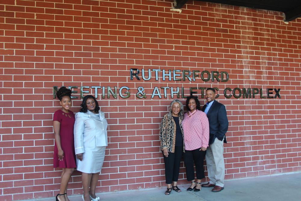 Rutherford Meeting and Athletic Complex Dedication