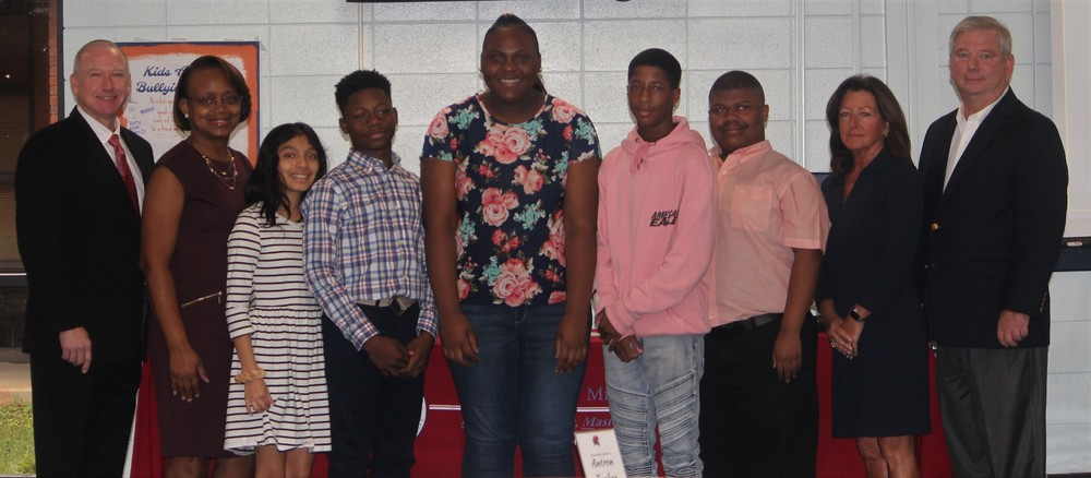 BCMS Students Sign College Scholarship Commitments