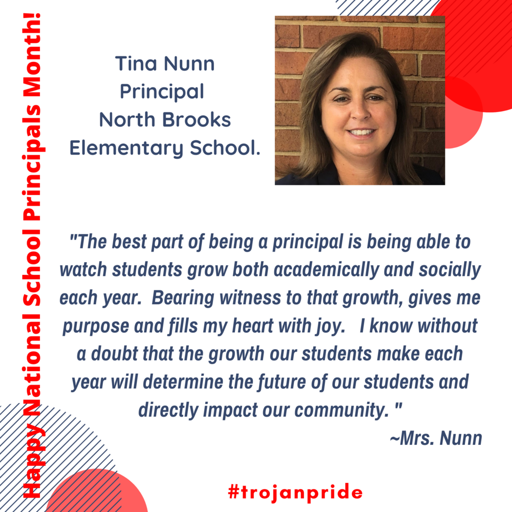 Happy School Principals Month!
