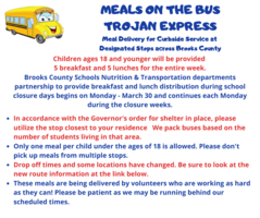 UPDATED Meals on the Bus Trojan Express