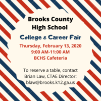 BCHS College & Career Fair 02/13/2020