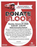 Blood Drive at Delta Innovative School