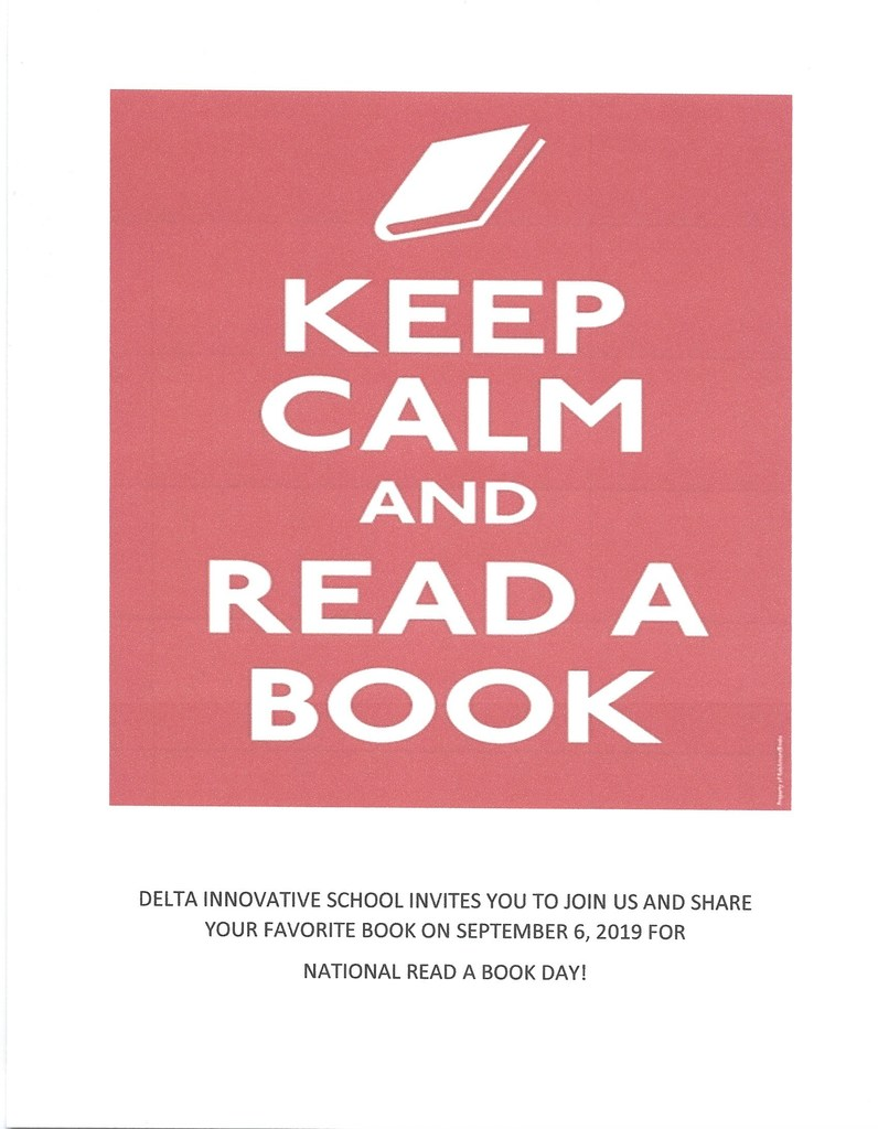 September 6 National Read A Book Day