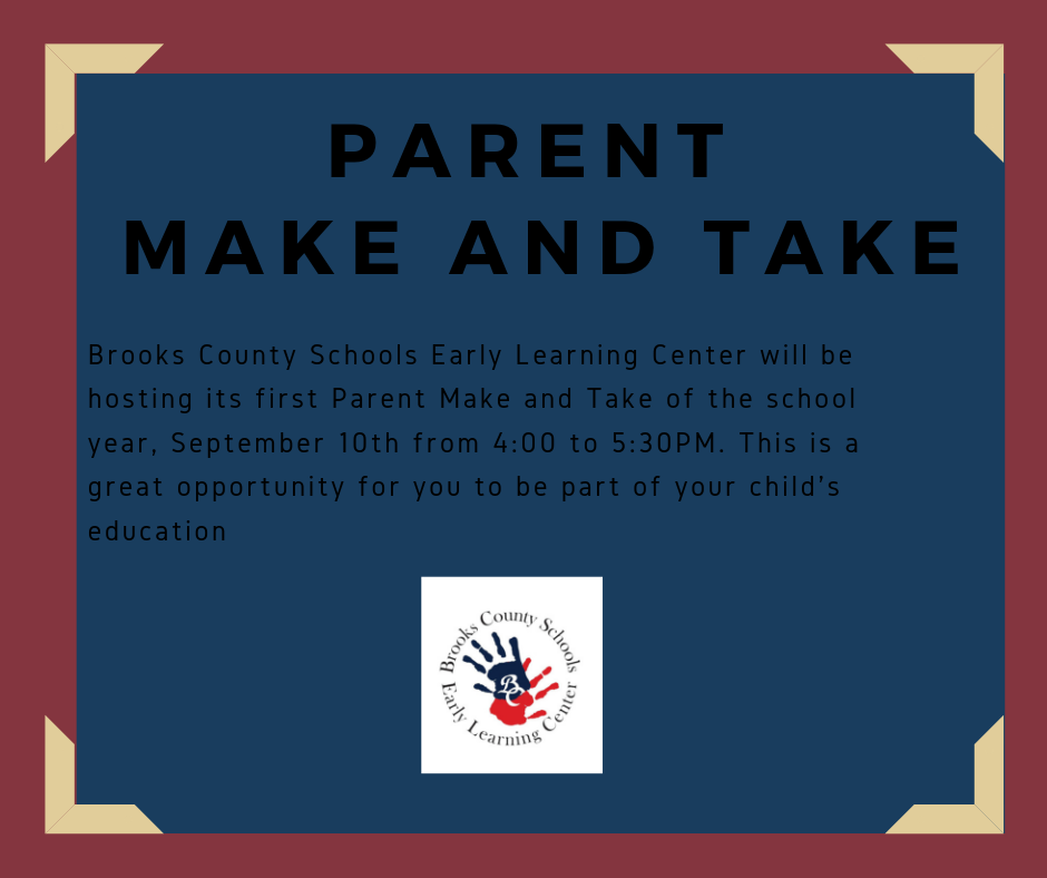 Parent Make and Take