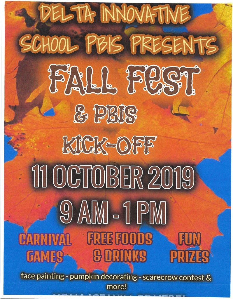 FALL FESTIVAL and PBIS KICK-OFF!