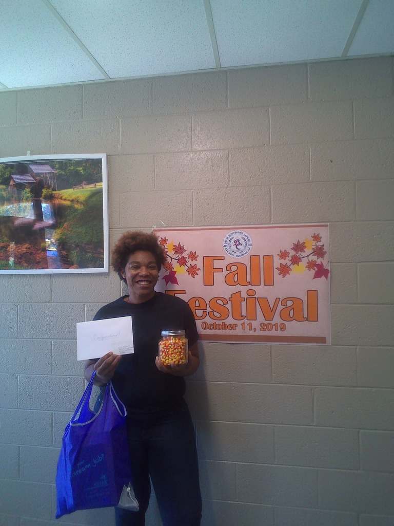 Guess How Many Fall Festival Winner Mrs. Nadia Scott Thomas